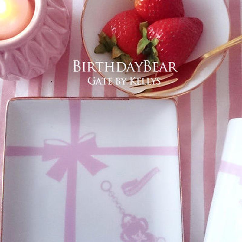 【単品】A3サイズ★Anniversary Bear1周年記念転写紙/ベビーピンク