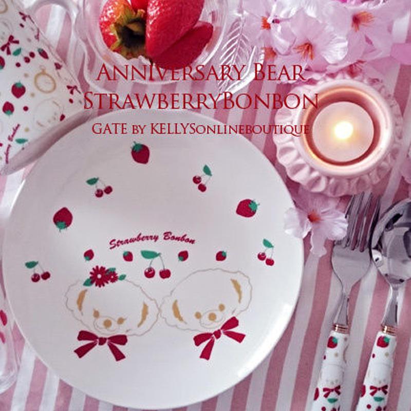 【単品】AnniversaryBearStrawberryBonbon転写紙 フェイス&ボディ