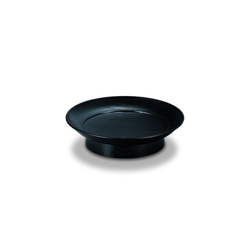 欅 4.5椿皿 黒