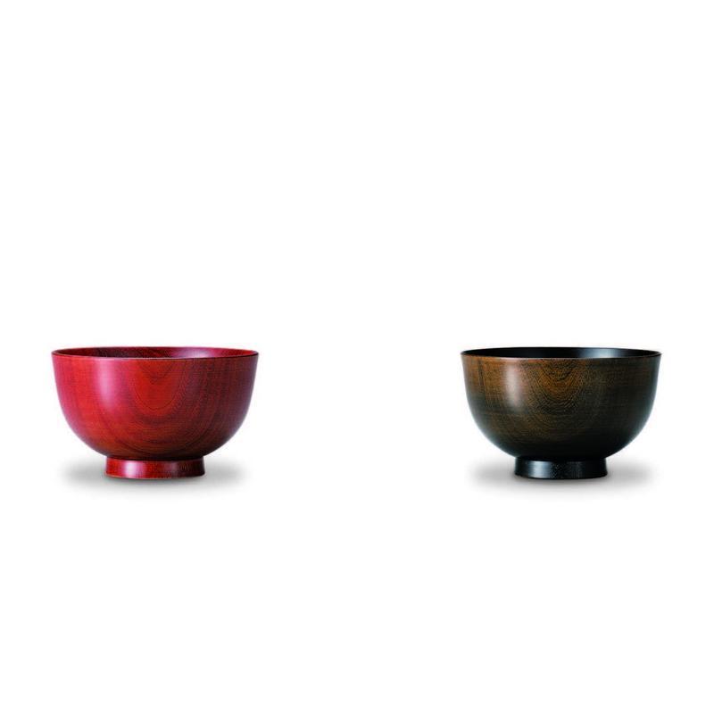 紅桜・夜桜 子供汁椀