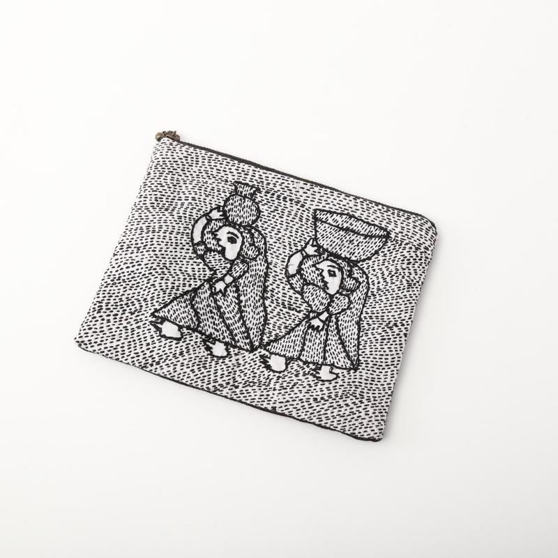 スージニ刺繍 ポーチ(小)