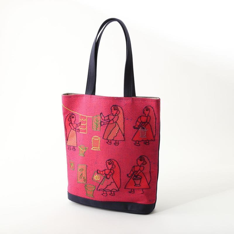 スージニバッグ(トート型・ピンク)