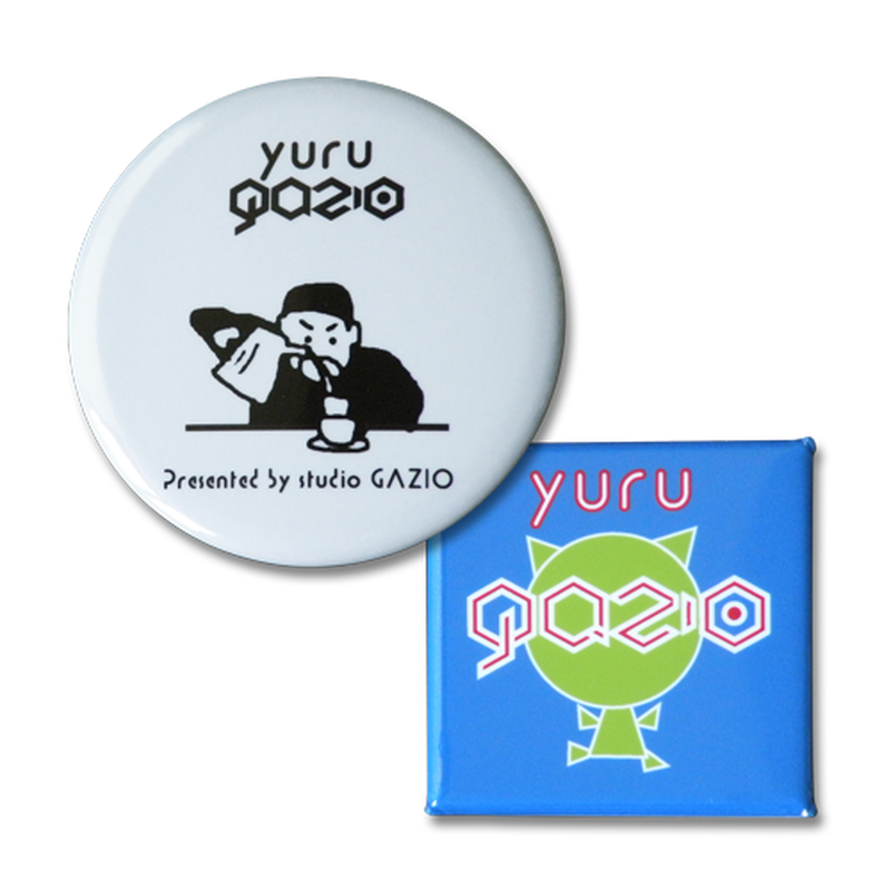 BADGE:YURU GAZI SET