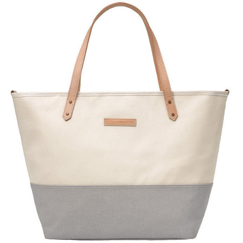 Petunia Pickle Bottom Downtown Tote (Birch Stone DTCB-524-00)