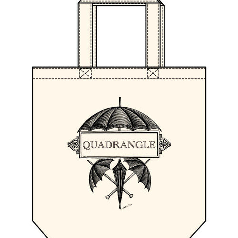 【QUADRANGLE】UMBRELLA TOTE BAG