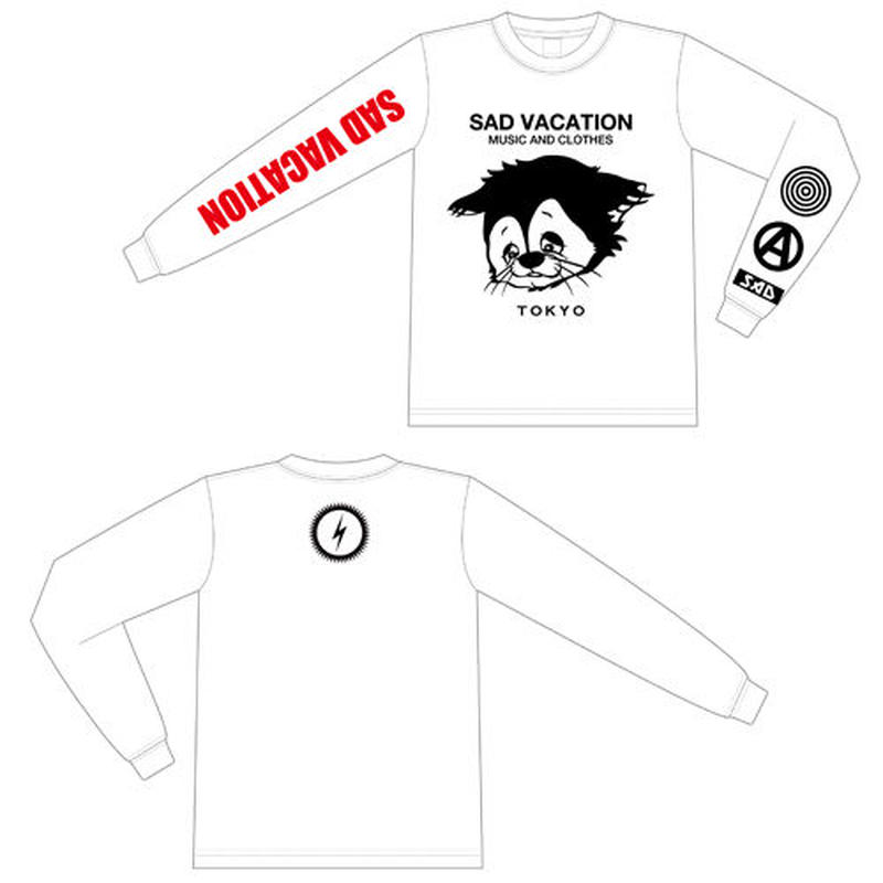 【SAD VACATION】 LONG SLEEVE T-SHIRTS