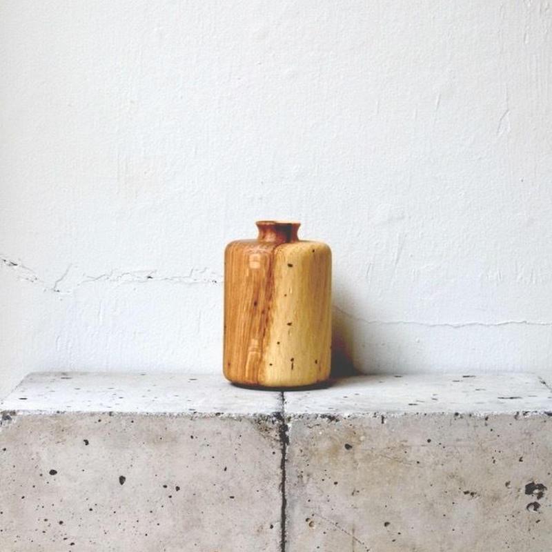 虫喰いの花器 筒