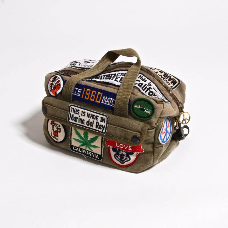 ALM MILITARY BOSTON BAG