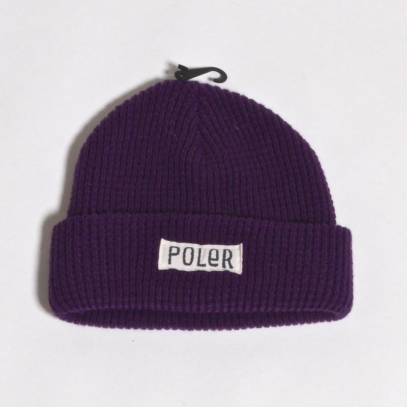 POLER WORKERMAN BEANIE / PURPLE