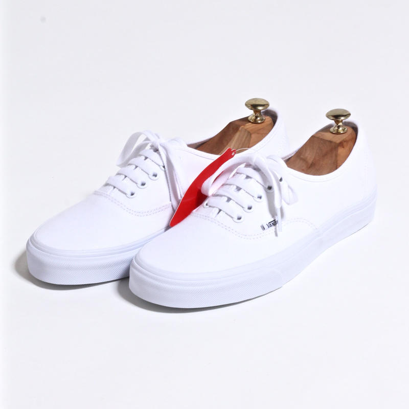 US VANS  AUTHENTIC / WHITE