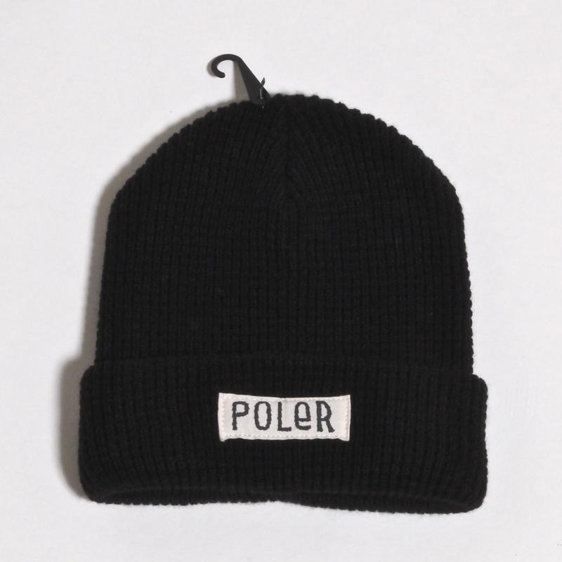 POLER WORKERMAN BEANIE / BLACK