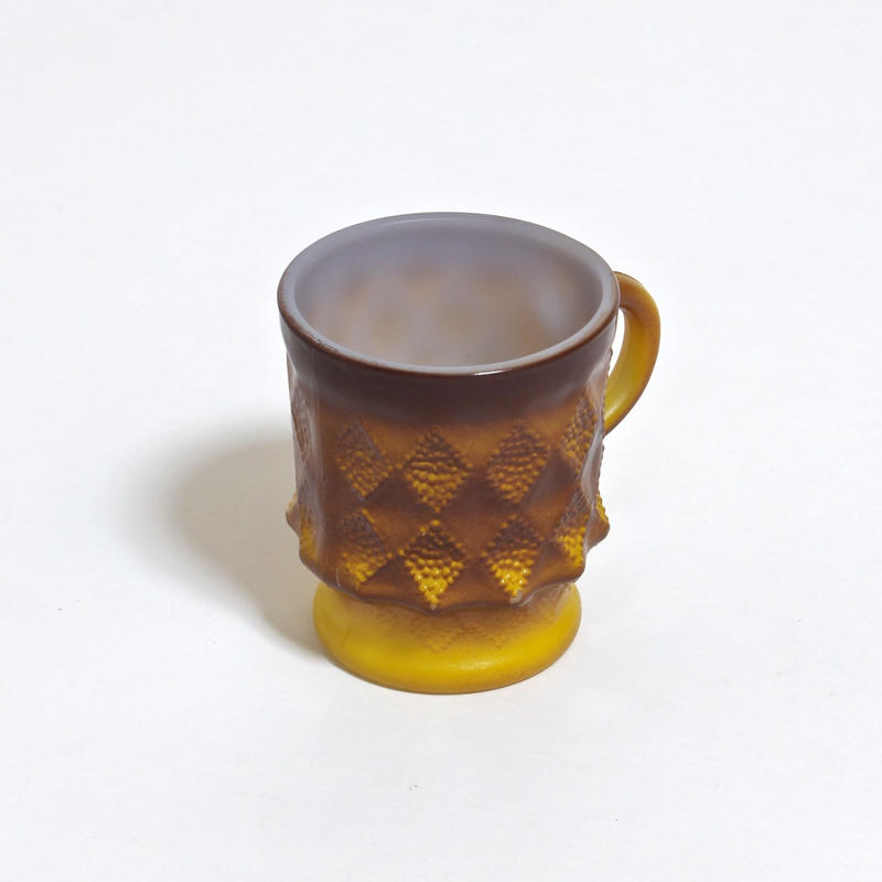 FIRE KING KIMBERLY MUG /  YELLOW