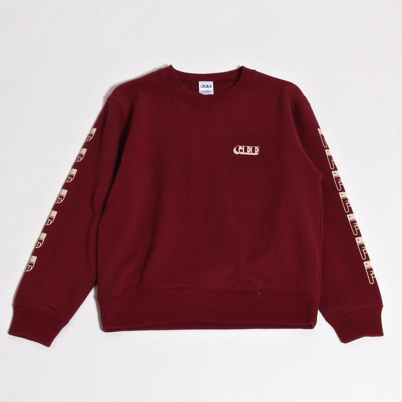 GEE ORIGINAL 10.0oz SWEAT SHIRTS / BURGUNDY