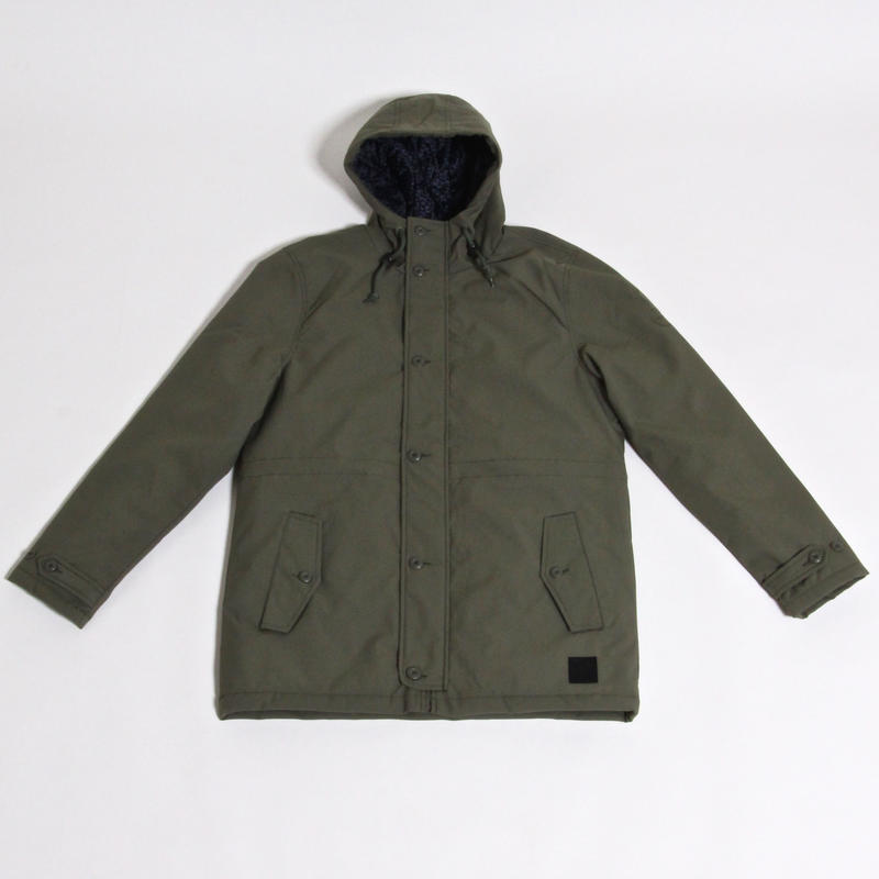 RVCA BOUNDARIES PARKA / OLIVE