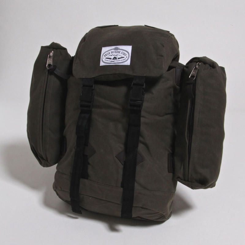 POLER CLASSIC RUCK SUCK / WAXED OLV