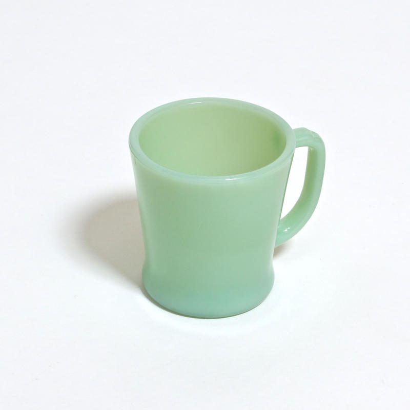 FIRE KING D HANDLE MUG / JADE-ITE