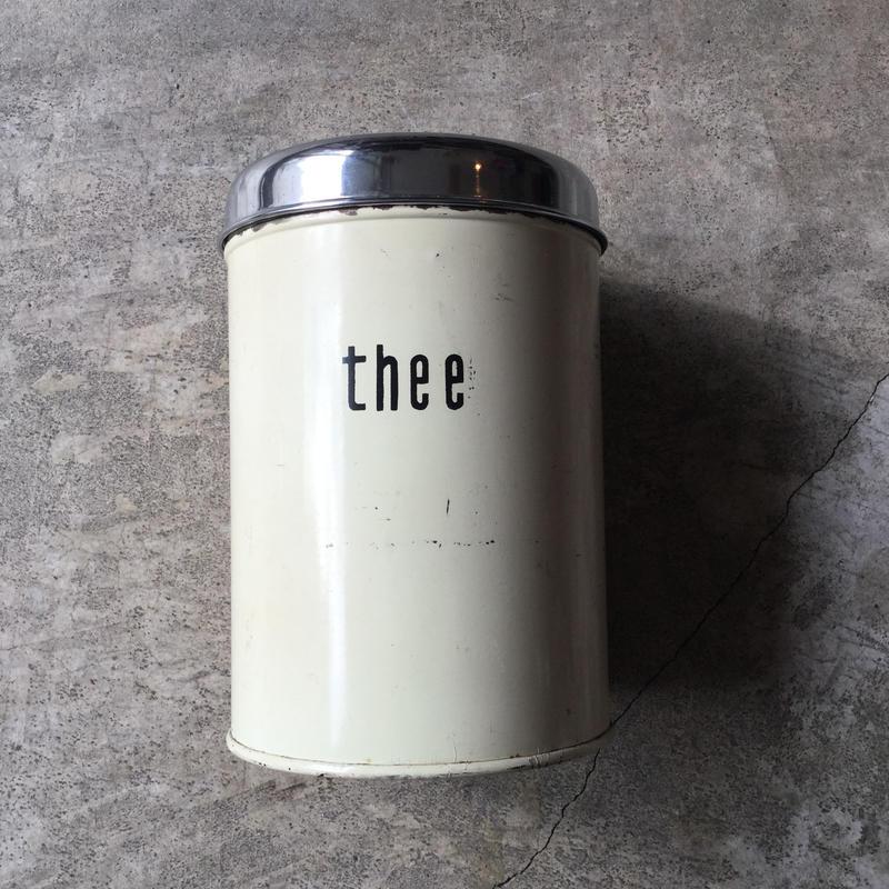 オランダ キャニスター お茶