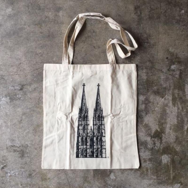 ドイツ ケルン大聖堂のエコバッグ