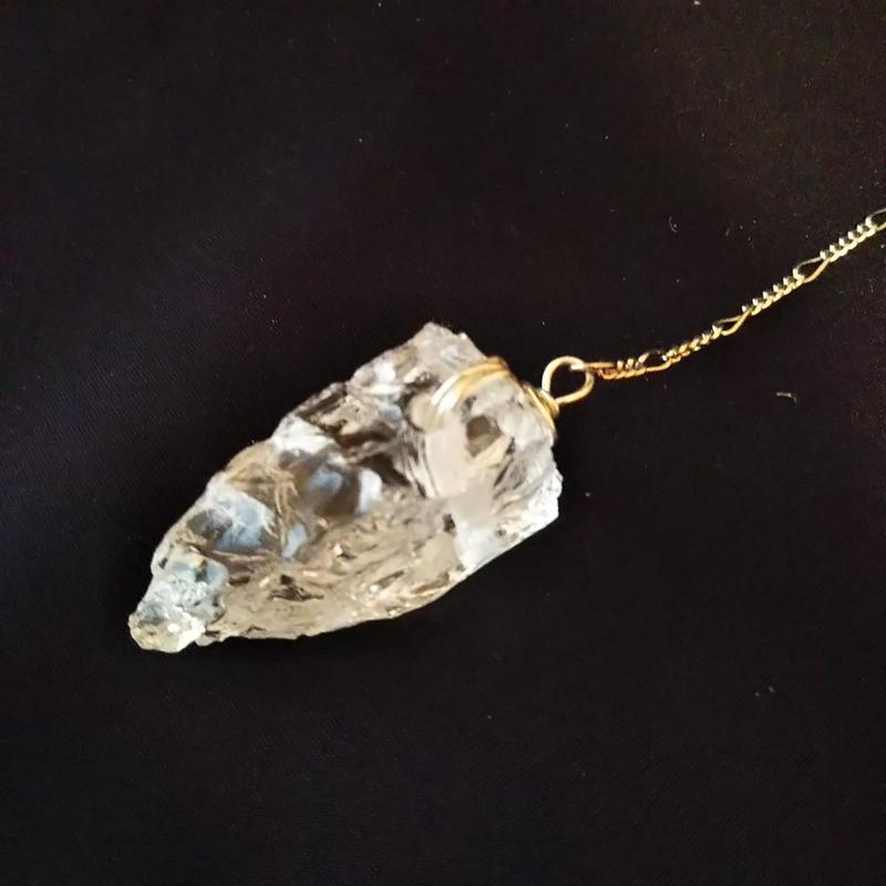 ペンジュラムI(水晶原石)