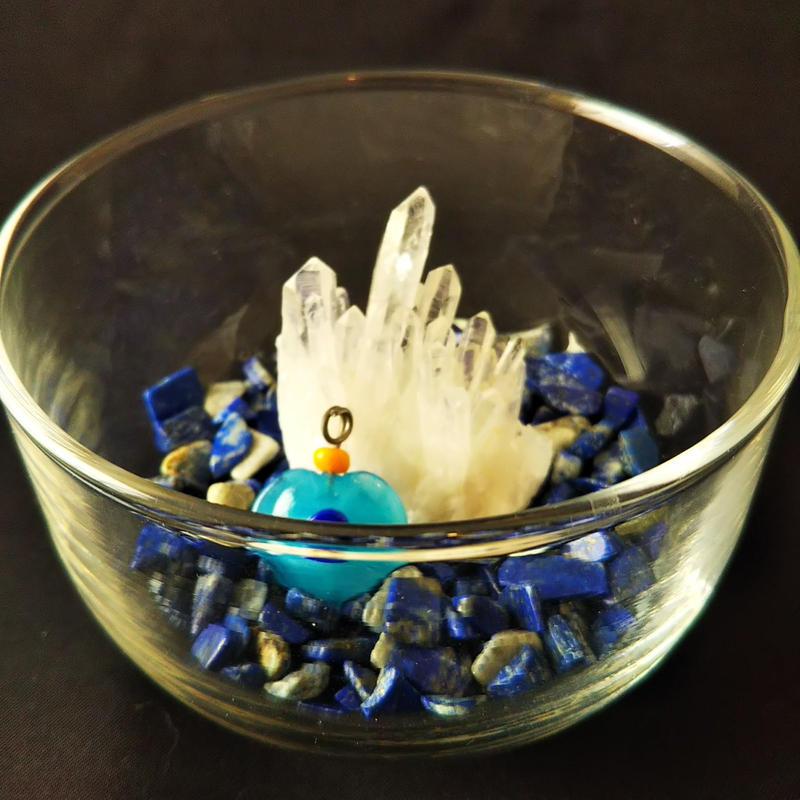 【お手軽浄化】パワーストーンセット(ミニ水晶クラスター)