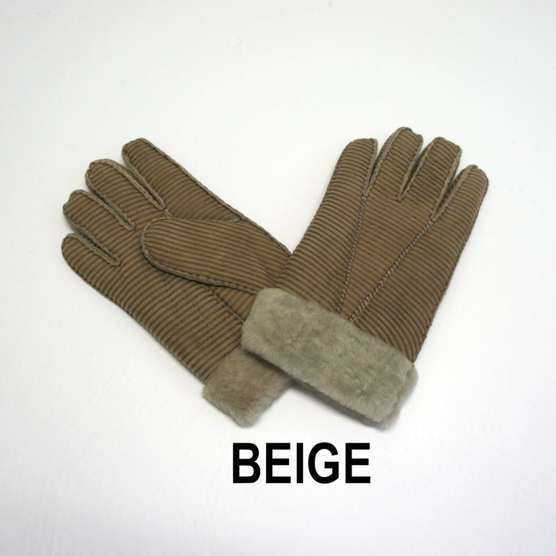内側ファーメンズ手袋