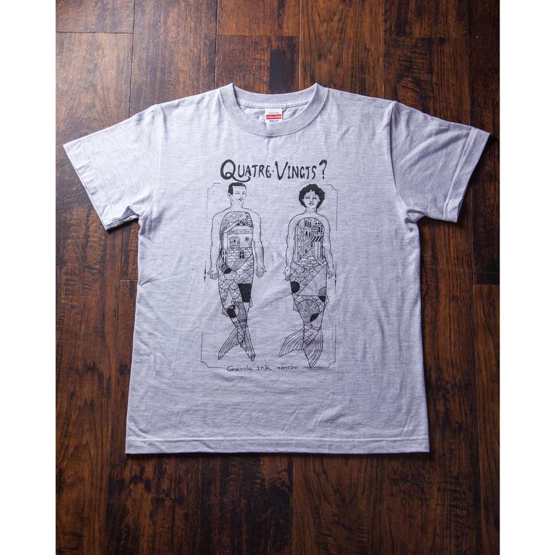 Mermaid Tshirt (GRAY)