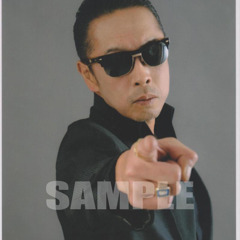 BLUE MOON BOYS(川戸昌和) / マルベル堂プロマイドB6大判台紙付BMB-17(中)