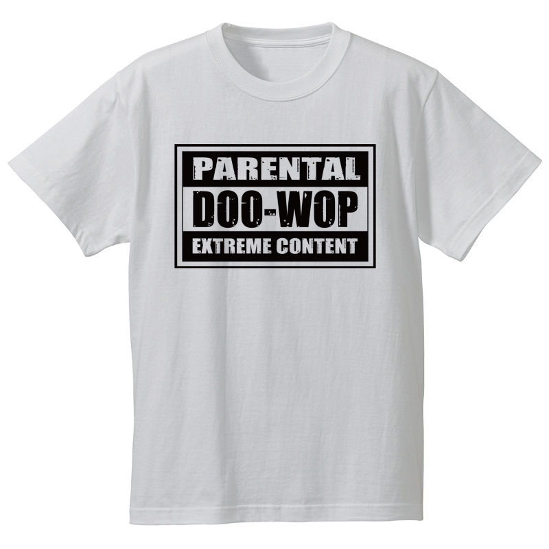 Parental Doo-Wop  /  Tee(ホワイト)