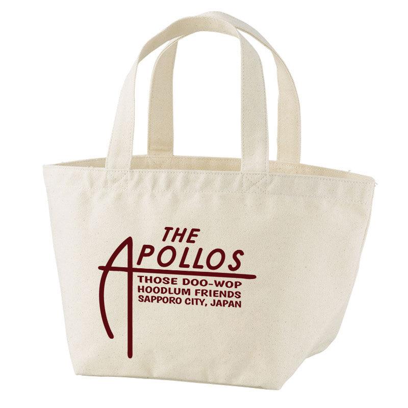 THE APOLLOS / A-LOGO  トートバッグ・ミニ (ナチュラル)