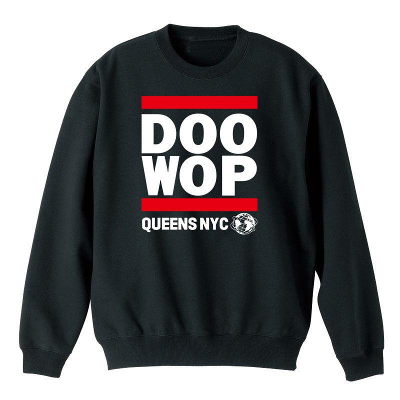 Queens NYC Doo-Wop スウェット (ブラック)