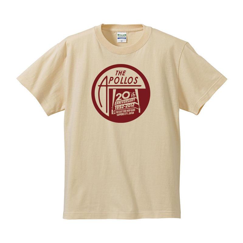 THE APOLLOS / 20th Anniversary Tee(ナチュラル)