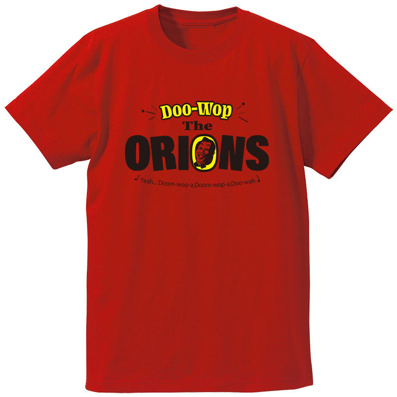The ORIONS / DOO-WOP Tee (レッド)