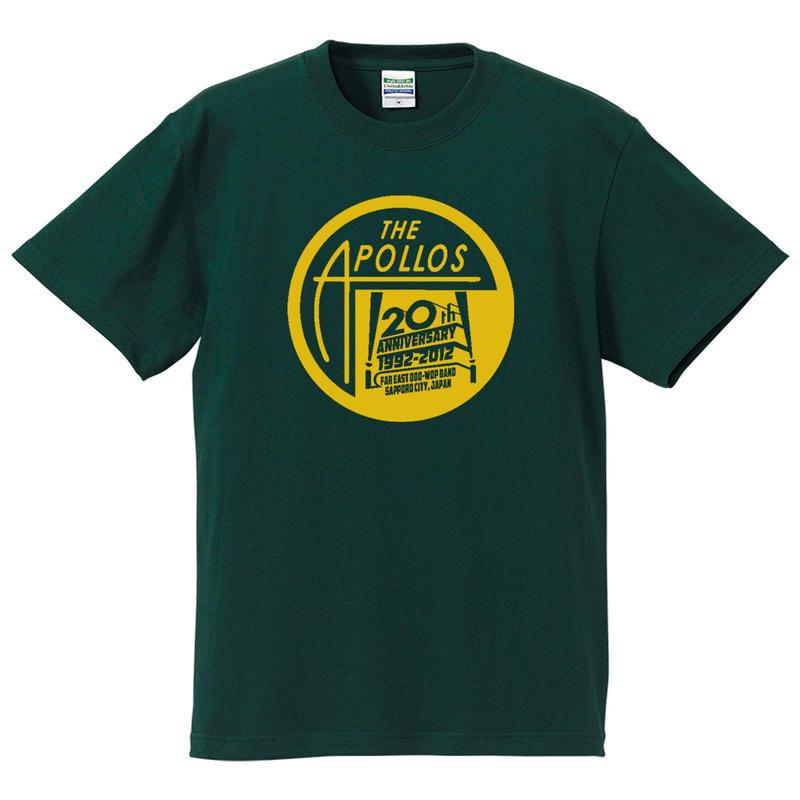 THE APOLLOS / 20th Anniversary Tee(フォレスト)