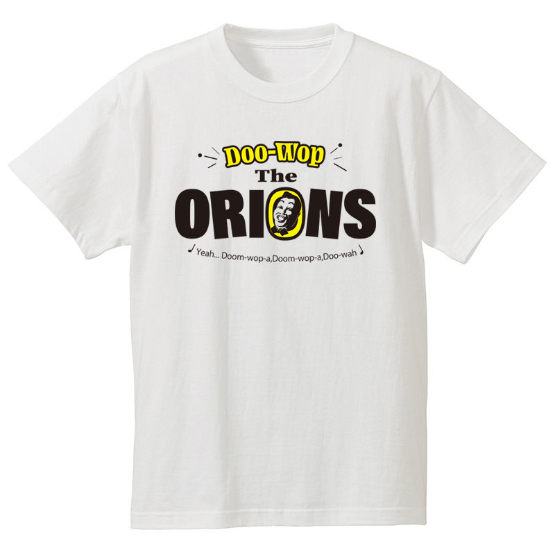The ORIONS / DOO-WOP Tee (ホワイト)