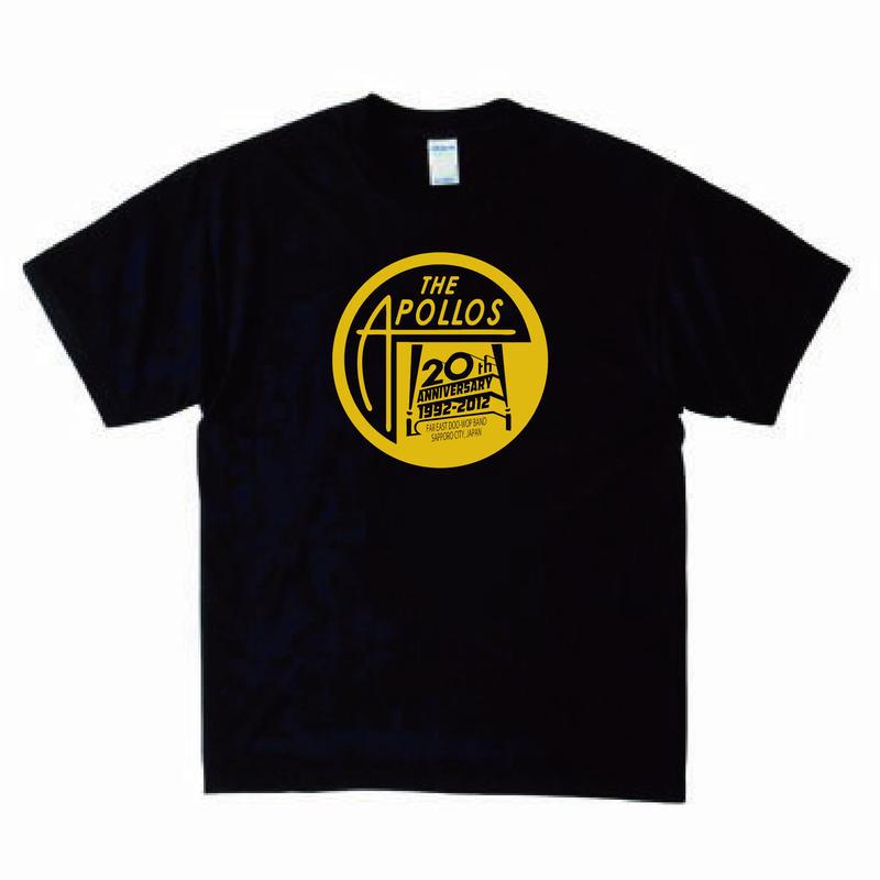 THE APOLLOS / 20th Anniversary Tee(ブラック)