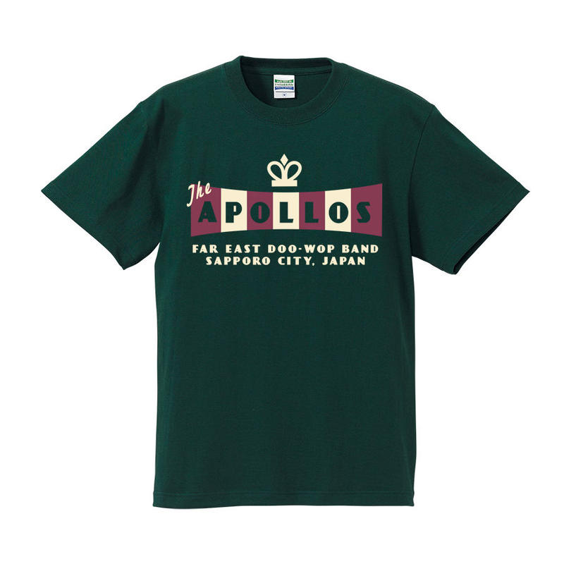 THE APOLLOS / CROWN Tee(フォレスト)