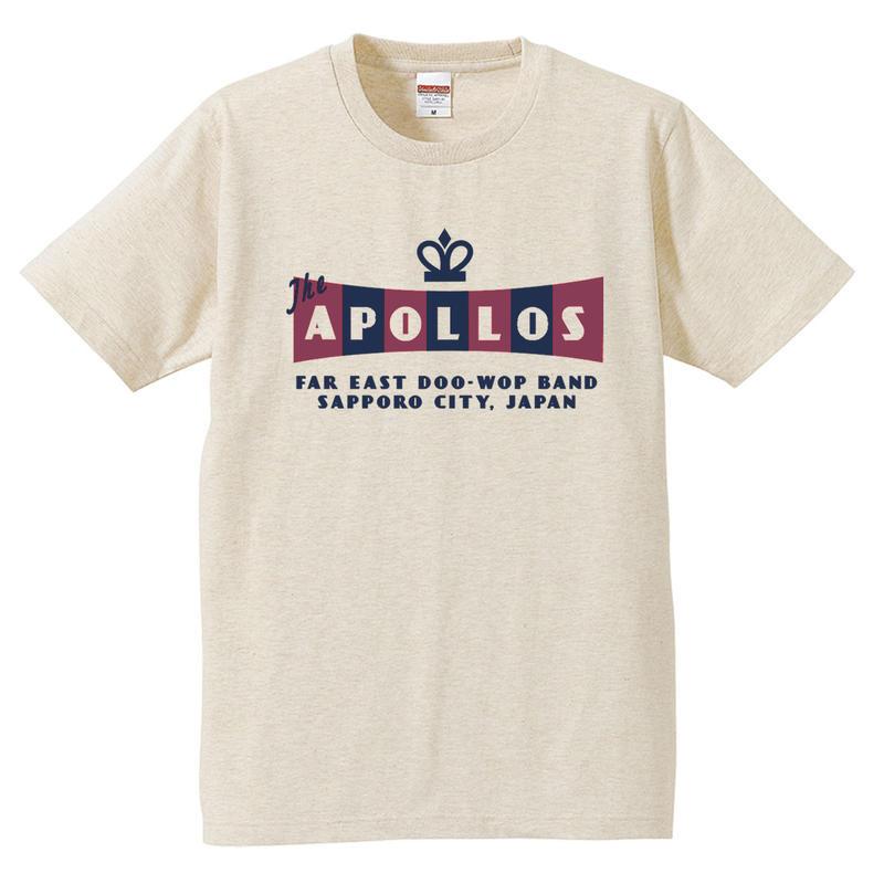 THE APOLLOS / CROWN Tee(ヘザーベージュ)