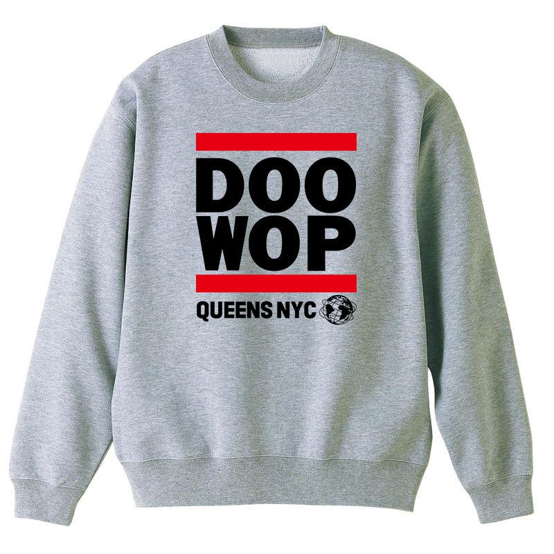 Queens NYC Doo-Wop スウェット (グレー)