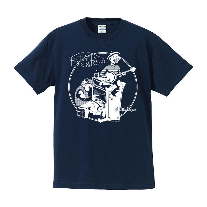 Fats & Fats / A Little Before Tee(インディゴ)