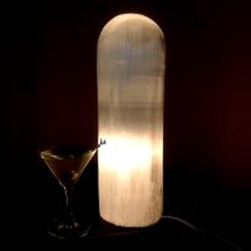 セレナイト特注磨きランプL