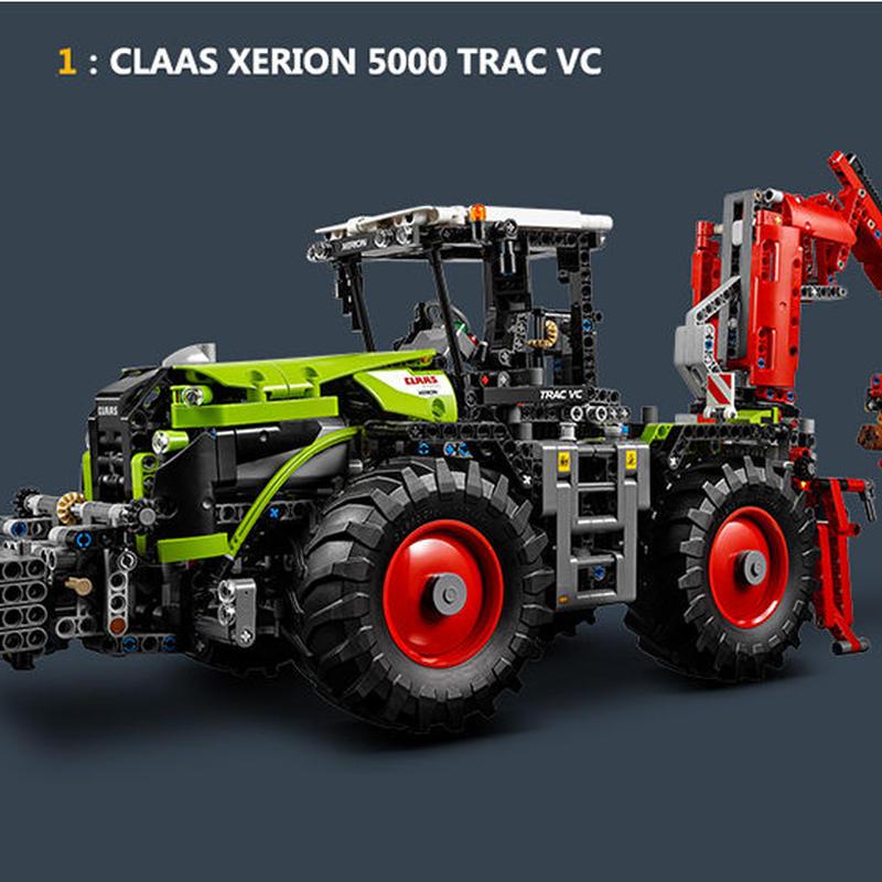 レゴ互換ブロック テクニックシリーズ CLAAS XERION 5000 TRAC VC 風 LEPIN社20009