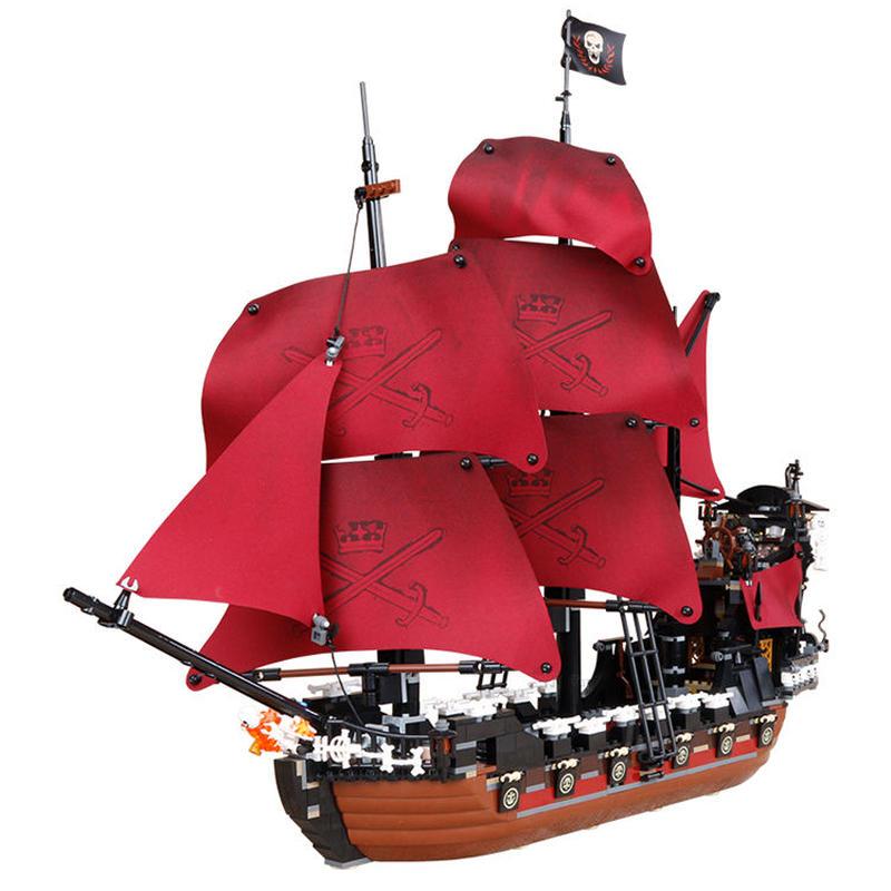 パイレーツオブカリビアン アン女王の復讐号  LEGO互換ブロック 16009
