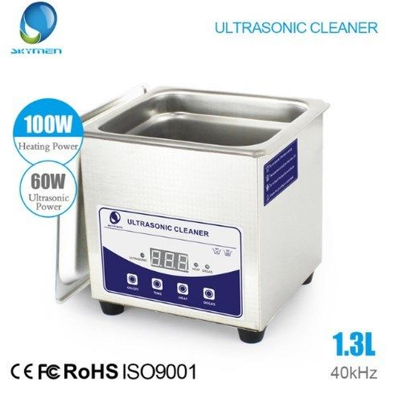 強力超音波クリーナー1.3L 60W 超音波洗浄器 デジタル制御