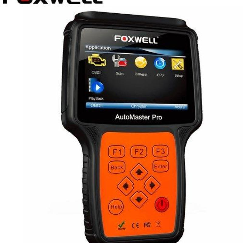 FOXWELL NT624 PRO プロフェッショナルオートモーティブObd2スキャナObdiiコードリーダ車全システム診断スキャンツールABS