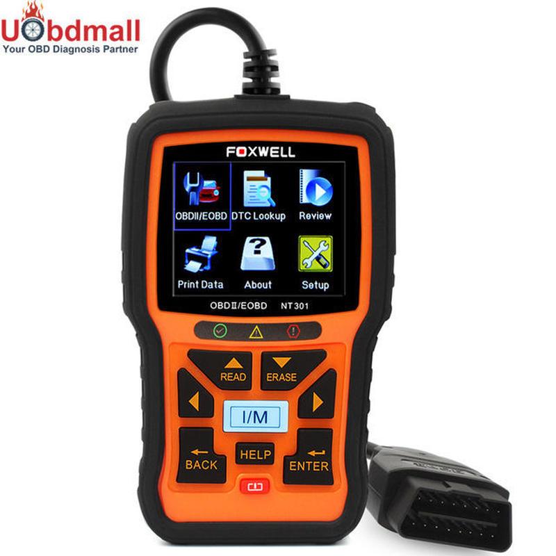 Foxwell NT301 自動OBD2診断ツール 自動車用スキャンツール