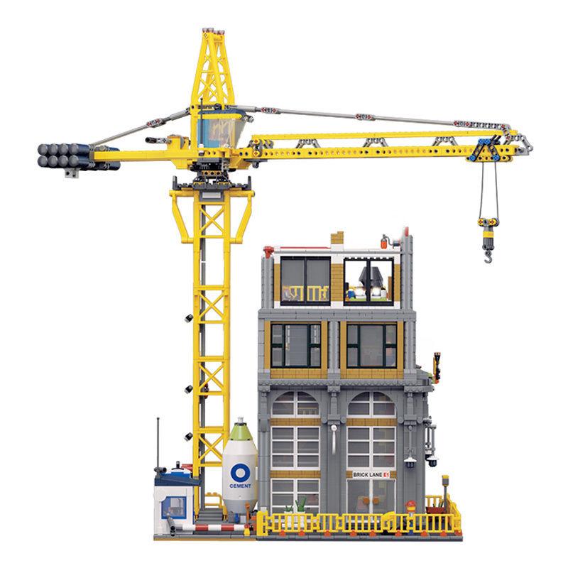 レゴ互換品 ビルと建設機  レゴ未発売 lepin