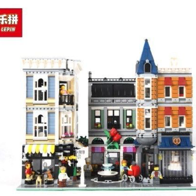 LEPIN   アセンブリスクエア  クリエイター  LEGO互換ブロック