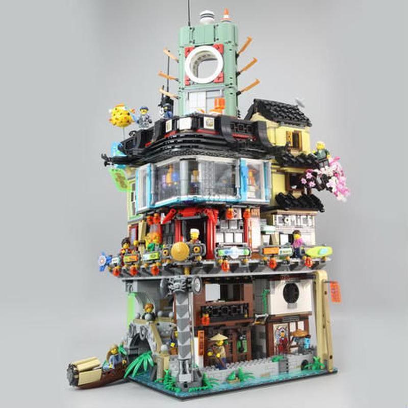 INJYAGO CITY ニンジャゴー・シティー LEGO互換ブロック