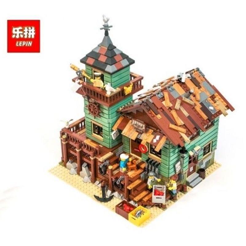 古い釣具や レゴ互換ブロック Lepin社