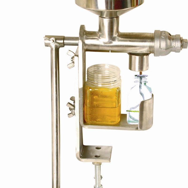 オイルプレス機  手動式油搾り機  オイル抽出器
